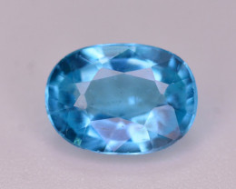 AAA Quality 1 Ct Neon Blue Color Natural Apatite