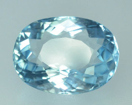 Gil Certified AAA Grade 6.69 ct Attractive Color Aquamarine~800