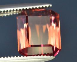 AAA Grade 2.65 ct Amazing Yellowish Pink Tourmaline