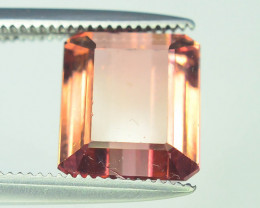 AAA Grade 3.40 ct Amazing Yellowish Pink Tourmaline