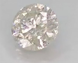 IGL Certified Natural  Diamond G Color - 0.86 ct
