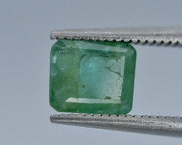 1.07 Crt Emerald Faceted Gemstone (R20)