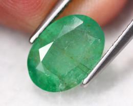 2.26Ct Natural Vivid Green Zambian Emerald B1803