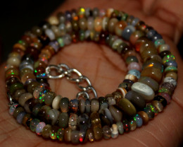 59 Crt Natural Ethiopian Welo Fire Opal Beads  150