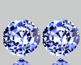⭐4.00mm BLUE SAPPHIRE PAIR - BRILLIANT CUT JEWELLERY GRADE GEMS