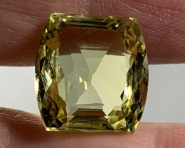 ⭐12.77ct Zesty Lemon Quartz VVS Stunning stone No reserve ~