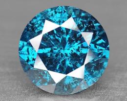 Sparkling Rare Fancy Intense Blue Color Natural Loose Diamond