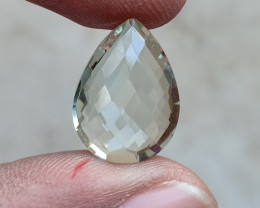 GREEN AMETHYST CHECKERED CUT Natural+Untreated VA3067