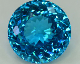 S#31-25 , 35.65 cts Electric Blue Topaz Gemstone
