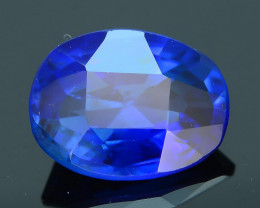 AIG Certified AAA Grade 1.08 ct Royal Blue Sapphire