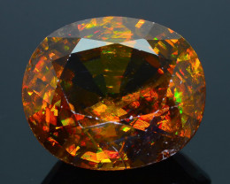 AAA Brilliance 13.44 ct Imperial Sphene Mozambique Sku-31