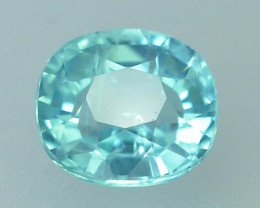 Great Luster 1.45 ct Apatite Mesmerizing Caribbean Color
