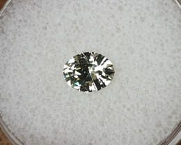 1,06ct Light green Sapphire - Master cut!