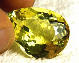 31.27 Carat African VVS Lemon Quartz - Gorgeous