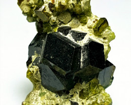 Damage free Garnet combine with Epidote 54Cts -Afghanistan