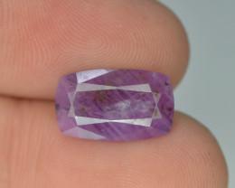 5.60 ct Untreated Pink Corundum Kashmir Sapphire