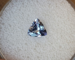 0,78ct Tanzanite - good colour!
