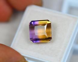 8.56Ct Bi Color Ametrine Emerald Cut Lot LZ1864