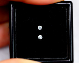 1.50mm Natural G-H Colour VVS Loose Diamond Pair