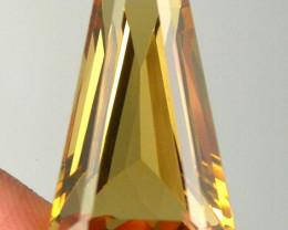 17.70ct Fancy Cut Citrine VVS gem - Stunning cut for setting - Top Quality