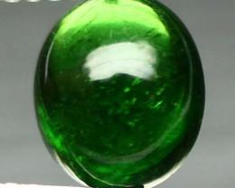 2.06ct Dark Green Apatite Cabochon