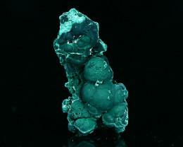 Malachite Specimen, Natural Bright Green Raw Rough Crystal Specimen,Mineral