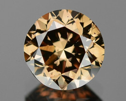 1.01 Cts UNTREATED NATURAL FANCY PINKISH BROWN COLOR LOOSE DIAMOND