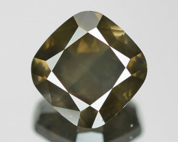 2.09 Cts UNTREATED NATURAL FANCY DEEP GRAYISH YELLOW COLOR LOOSE DIAMOND