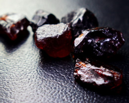 51.06 CT CT Natural - Unheated Red Garnet Rough Lot