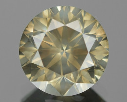 1.70 Cts UNTREATED NATURAL FANCY GREENISH YELLOW COLOR LOOSE DIAMOND