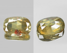 2.31 Cts UNTREATED NATURAL FANCY GREENISH YELLOW COLOR LOOSE DIAMOND