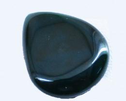 Genuine 42.00 Cts Bloodstone Pear Shape Gem