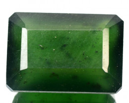 13.64 CTS UNTREATED RARE GREEN SERPENTINE NATURAL GEMSTONE