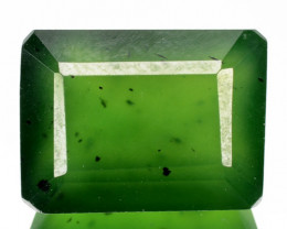 7.30 CTS UNTREATED RARE GREEN SERPENTINE NATURAL GEMSTONE