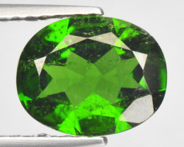 1.71 CTS RARE RUSSIAN GREEN CHROME DIOPSIDE NATURAL GEMSTONE