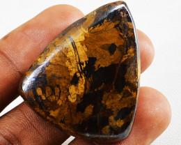 Genuine 106.00 Cts Pear Shape Bronzite Gemstone