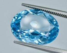 11.99 Crt Topaz Faceted Gemstone (R21)