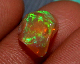 1.85 ct Natural Ethiopian Welo Fire Freeform Welo Opal Carvin 236