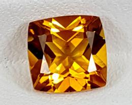 1.45Crt Madeira Citrine  Best Grade Gemstones JI07