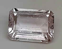 4Crt Pink Morganite  Best Grade Gemstones JI07