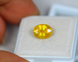 2.88ct Yellow Sapphire Composite Oval Cut Lot V3363