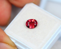 1.16ct Rhodolite Garnet Oval Cut Lot V4901