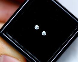 1.40mm Natural G Colour VS Loose Diamond Pair
