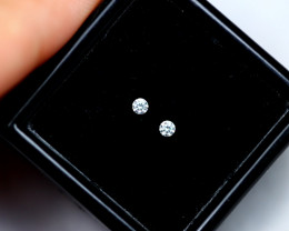 1.60mm Natural G Colour VS Loose Diamond Pair