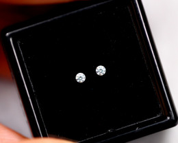 1.90mm Natural G Colour VS Loose Diamond Pair