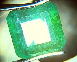 7.34cts  Emerald , 100% Natural Gemstone