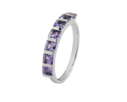 Tanzanite 925 Sterling silver ring #412