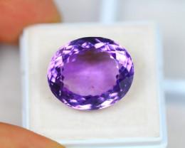 17.05ct Purple Amethyst Oval Cut Lot GW3180