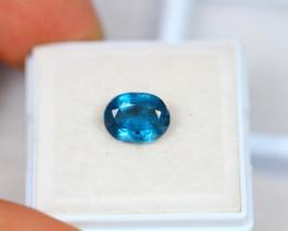 2.28ct Greenish Blue Kyanite Oval Cut Lot GW3188