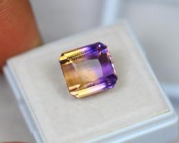 8.04ct Bi Color Ametrine Emerald Cut Lot GW3194